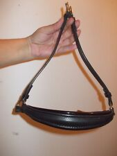 new kate negus patent padded drop noseband with sliphead
