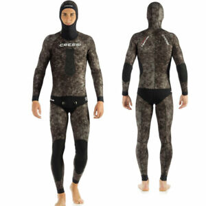 Wetsuit CRESSI SUB Spotted Weever 5mm Camouflage Opencell For Apnea Wetsuit Camo