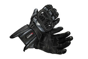 "Matador ""Wolverine"" - Men's Leather Motorcycle Sport Gloves"