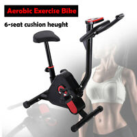 Aerobic Exercise Bike Cycling Trainer Cardio Fitness Workout Folding Machine