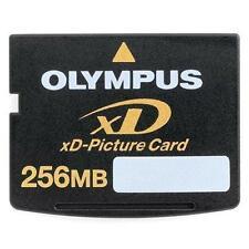 256MB OLYMPUS XD MEMORY CARD STANDARD TYPE FUJI FINEPIX/OLYMPUS CAMERAS 256 MB