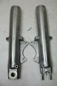 Harley dual disc FL fork legs sliders Road King Glide FLHT 1999 down EPS23131