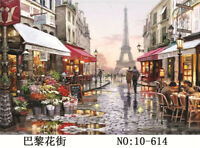 1000 Pieces Jigsaw Puzzle Paris Street Eiffel Tower Puzzle for Kids Adult Gift