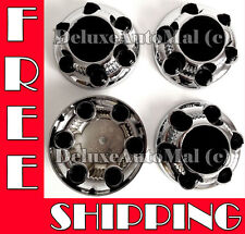 Chrome Wheel Center Caps for Chevy / GMC 6 LUGS Wheels (4 Pieces Set)