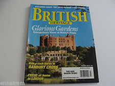 British Heritage Magazine Feb Mar 2001 Culloden Moor Banbury Cross Freud