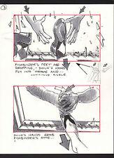 SHE'S OUT OF CONTROL 1989 ORIGINAL STORYBOARD ART ALTERNATES CARL ALDANA #3 SHOE