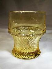 FEDERAL GLASS CO. DIANA AMBER 9-OUNCE FLAT TUMBLER!