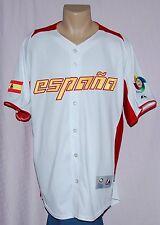 Team Spain Espana 2013 World Baseball Classic Jersey Cool Base XL