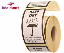 Keep Dry Package/Packaging Postage Product Self-Adhesive Labels Label Planet®