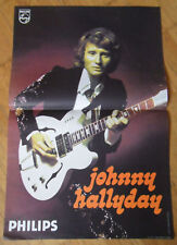 JOHNNY HALLYDAY CONCERT TOURNÉE 1973 / 1974  AFFICHE ORIGINALE