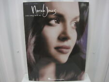 Norah Jones Come Away With Me Piano Vocal Guitar Sheet Music Song Book Songbook