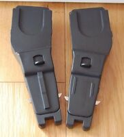 Pair Mothercare Spin / Orb Maxi-Cosi Cabriofix Pebble Car Seat Adapters Adaptors