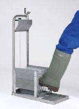 Boot propre acier inox stiefelputzer raccordement d'eau Chaussure Nettoyant