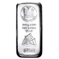 Münzbarren Fiji 1 Kilo 1000 Gramm Silber Argor Heraeus 999,9er Silberbarren 2015