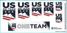 2020 US OLYMPIC SKI TEAM STICKER DECAL LOT SET USA UNITED STATES