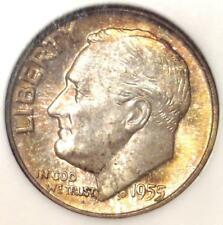 1955 Roosevelt Dime 10C - Certified NGC MS67 FT - Rare in MS67 FB - $1,900 Value