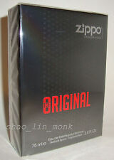 ZIPPO THE ORIGINAL MEN PERFUME 75 ML 2.5 OZ EDT POUR HOMME SPRAY NIB