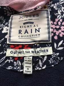 Girls Joules Coat age 9-10 years