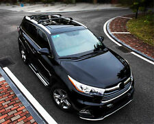 Fit for Toyota Highlander XLE Limited 2014-2018 Roof Luggage Rack Cross Bar Rail