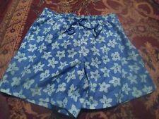 SOUTHERN TIDE Men's 100% Polyester Large BLUE & GREEN Swim Shorts