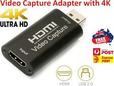 HDMI Video Capture Card USB 2.0/4K UHD Recorder for Video Live Streaming / Game