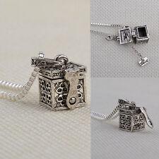Hot Sale Retro Ash Holder Mini Keepsake Urn Cremation Pendant Necklace Jewelry