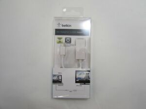 NEW Belkin F2CD021eb White Mini DisplayPort To HDMI Adapter Plug-and-Play
