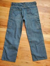 Men's Levi's Carpenter Jeans 33 Denim Blue 8 Pockets