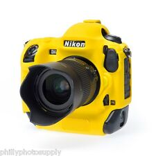 easyCover Armor Protective Skin for Nikon D4s - (Yellow) -> Bump Protection!