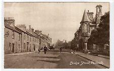 BRIDGE STREET, PENICUIK: Midlothian postcard (C21240)