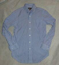 RRL Striped Snap Tab Collar Shirt Size XS