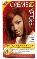 Creme of Nature Exotic Shine Color With Argan Oil, Red Copper 6.4, 1 ea