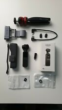 DJI Osmo Pocket Handheld Camera with tripod, mount, USB Mic & extras! Mint