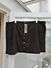 Ladies Love Drove Back Skirt Plus Size 30 Simply Be NWT