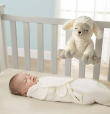Slumber Melodies Lamb Baby Soothing Comforter Soft Toy Womb Sound Cot Mobile