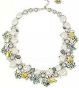 $195 Betsey Johnson Necklace crabby couture Shell statement necklace Bkk6