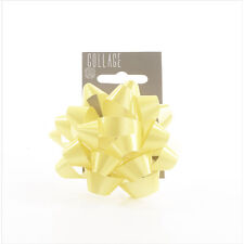 Gift Wrap Bow Individual Yellow Wrapping Bows Collage Gift Dressings