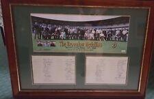 1925 - 2000 Brownlow Medal The Highest Honour HAND Signed Framed AFL BOX LOCKETT