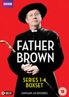 Father Brown: Series 1-4 DVD (2016) Mark Williams cert 12 13 discs ***NEW***
