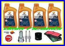Kit Tagliando TRIUMPH STREET TRIPLE 675 15 Filtro Aria Olio REPSOL Candele 2015