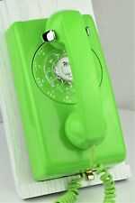 RARE Vintage Antique Telephone 554 - Lime Green - Fully Refurbished - Beautiful!