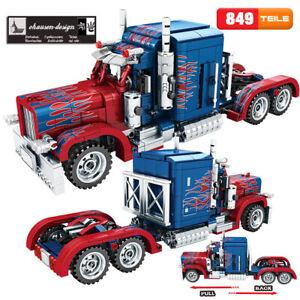 Peterbild Truck Optimus Prime 849 Teile Klemmbausteine 100% COBI LEGO kompatibel