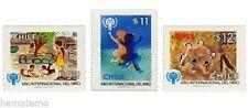 Chile 1979 #957-59 Año Internacional del Nino MNH