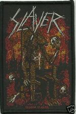 SLAYER devil on throne - WOVEN  PATCH - free shipping