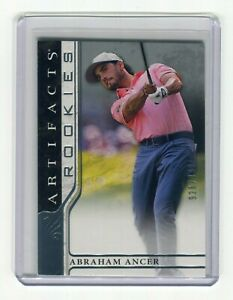 ABRAHAM ANCER RC 2021 UD ARTIFACTS GOLF #52 ROOKIES 926/999
