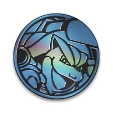 Pokemon Mega Blastoise Coin :: Official Pokemon Coin from Battle Arena Deck::