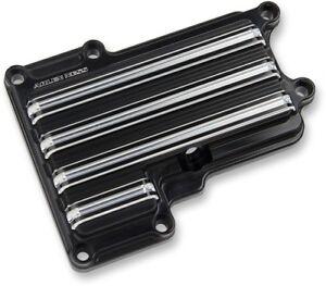 Arlen Ness - 03-853 - Black 10-Gauge Top Transmission Cover Dyna/Softail/FLT