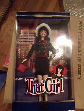 Ann Marie ~ That Girl Barbie - Marlo Thomas 2002  SIGNED RARE