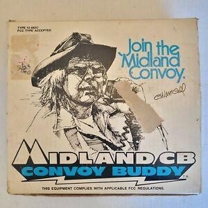 1976 CW McCall Convoy Buddy Midland 13-882C CB Radio In Original Box