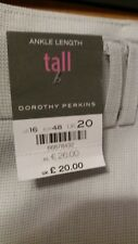 """L@@K DOROTHY PERKINS NWT SIZE 20/29"""" ANKLE LENGTH DRESSY SUMMER PARTY TROUSERS"""